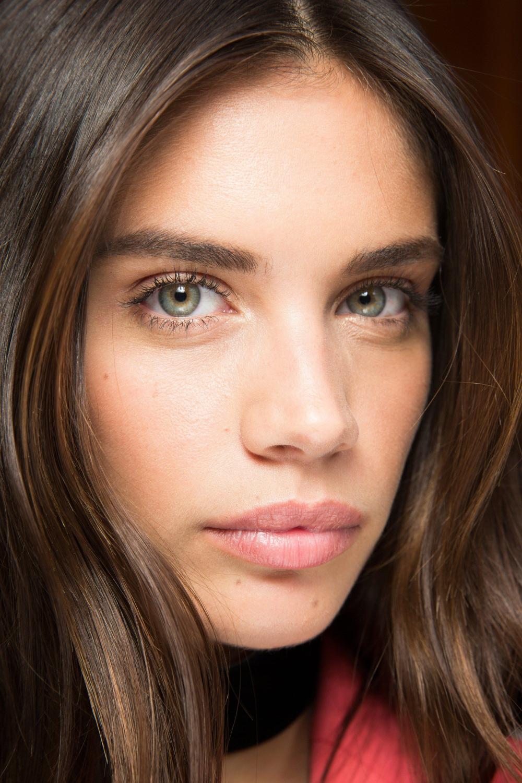 Blaue Gesichtsbehandlung Brünette Augen Hintergrundbilder :