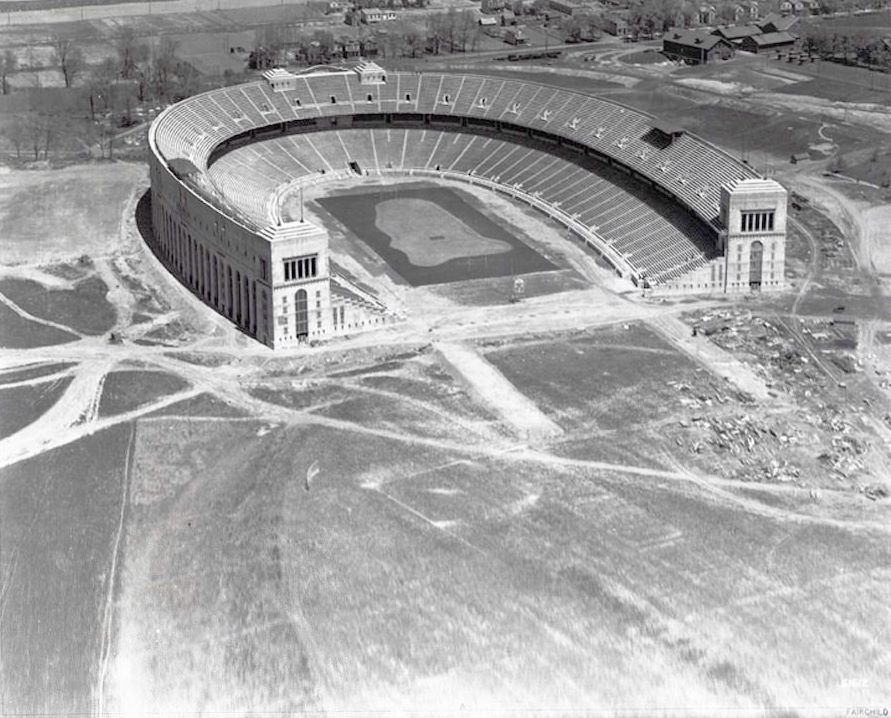 Ohio Stadium 1923 Ohio Stadium Ohio State Football Buckeye Nation