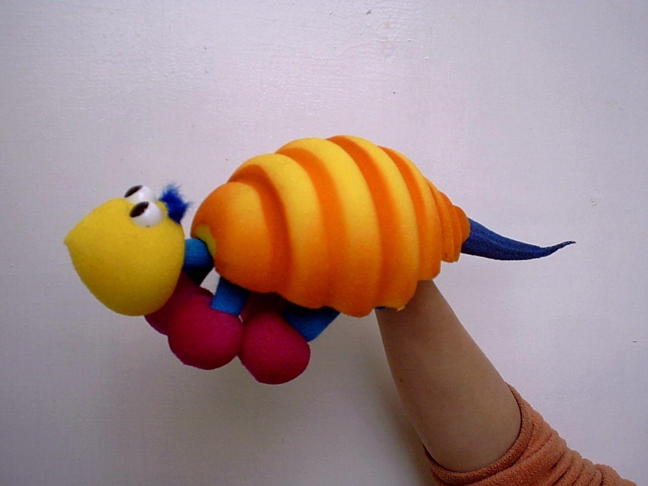 Titeres marionetas did cticas material espuma de goma - Goma espuma manualidades ...