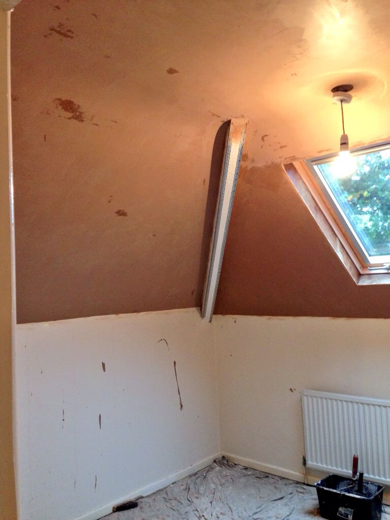Plastering Over Artex Ceiling