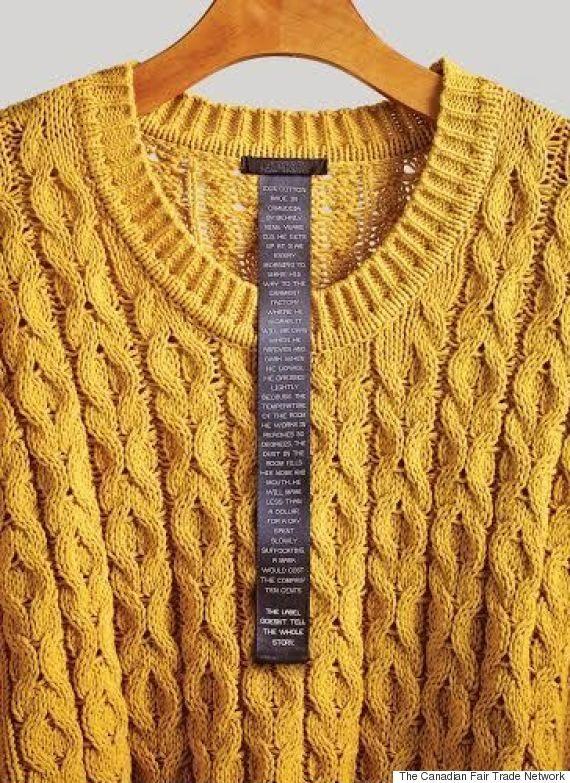Clothing Labels List Sweatshop Atrocities So Buyers Will