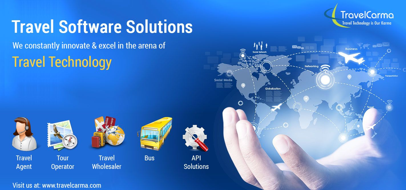 TravelCarma suite of Software Solutions for Travel Agency, Tour