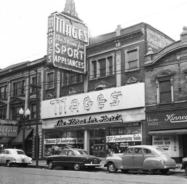 Chicago S Extinct Businesses Morrie Mages Chicago Shopping
