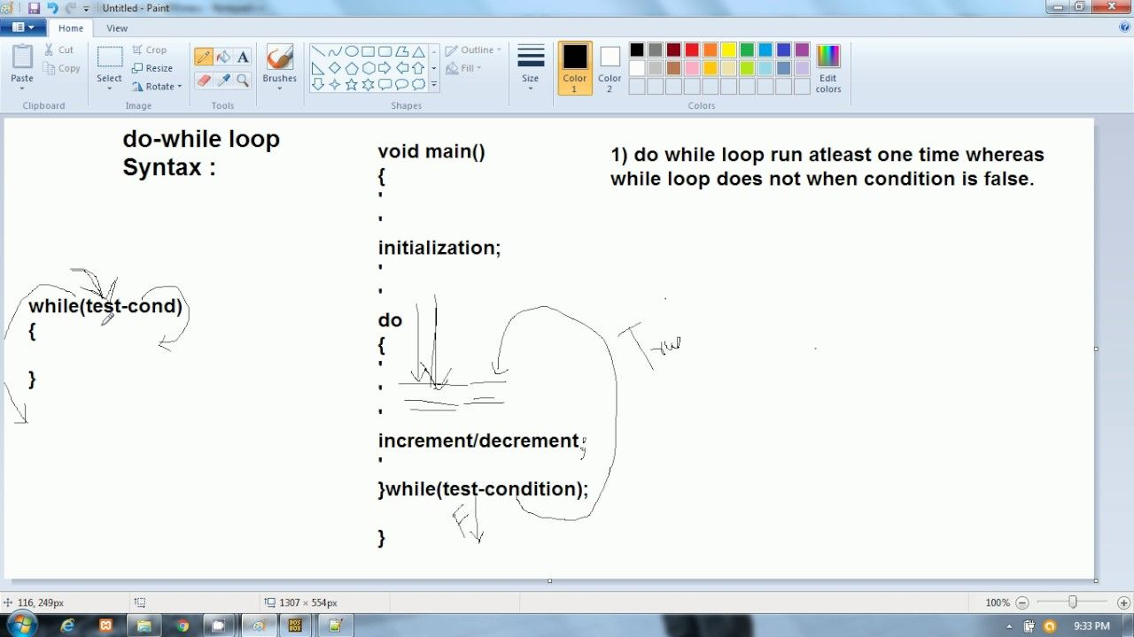 C Language In Hindi Difference Between While And Do While Loop