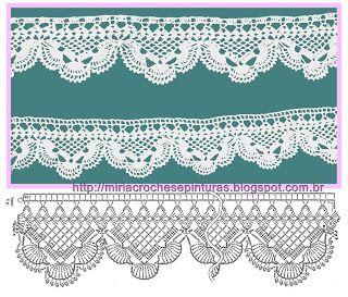 MIRIA crochets lots of borders