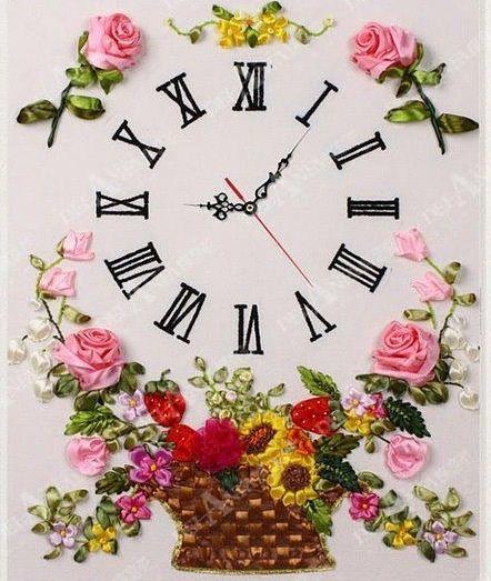 Seda Cintas Con RelojBordado Cinta Bordar De u1clJT3FK