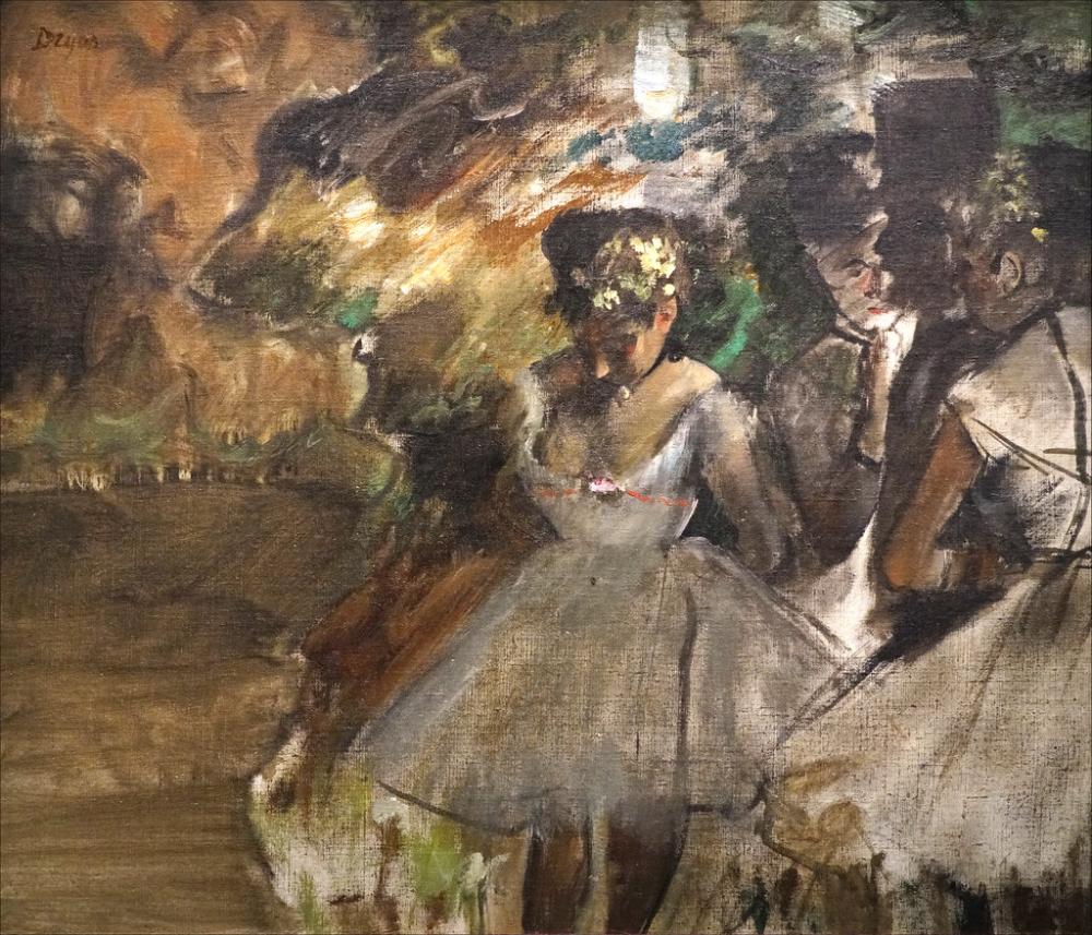 Trois Danseuses Dans Les Coulisses D Edgar Degas Musee D Orsay Paris En 2020 Musee D Orsay Art Occidental Danseuse