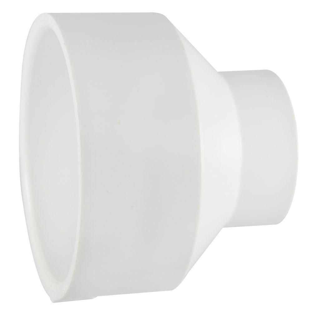 Nibco 3 In X 1 1 2 In Pvc Dwv Hub X Hub Reducing Coupling Fitting C4801hd3112 The Home Depot Plumbing Fixtures Pvc Pvc Fittings