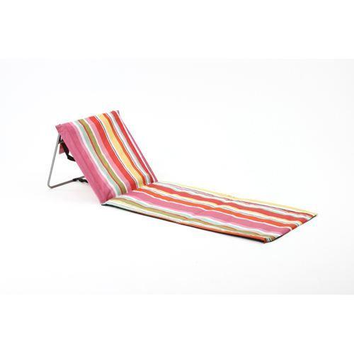 tapis de plage avec dossier enredada