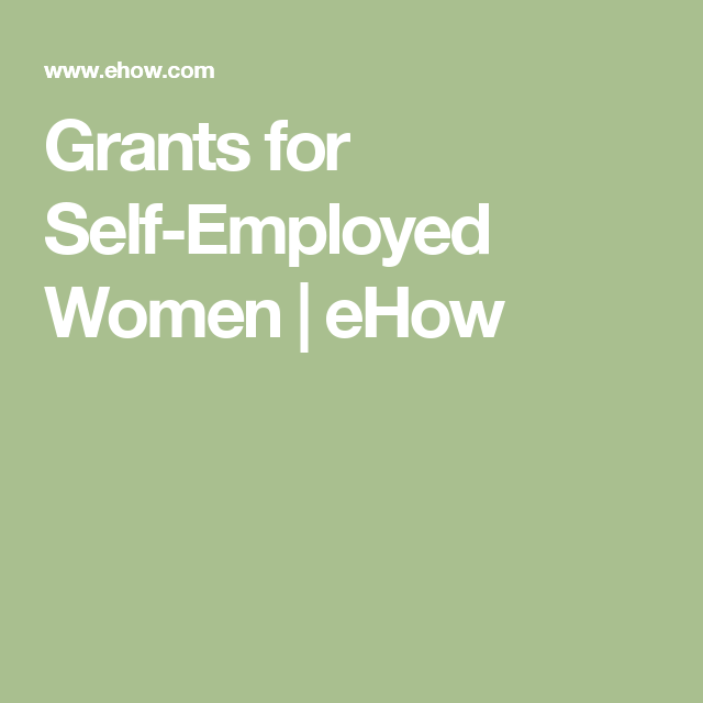 self employed grant - photo #38