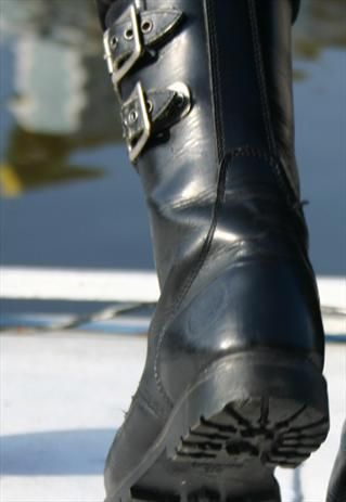 French Army Style Boots, so they can run faster from gunfire