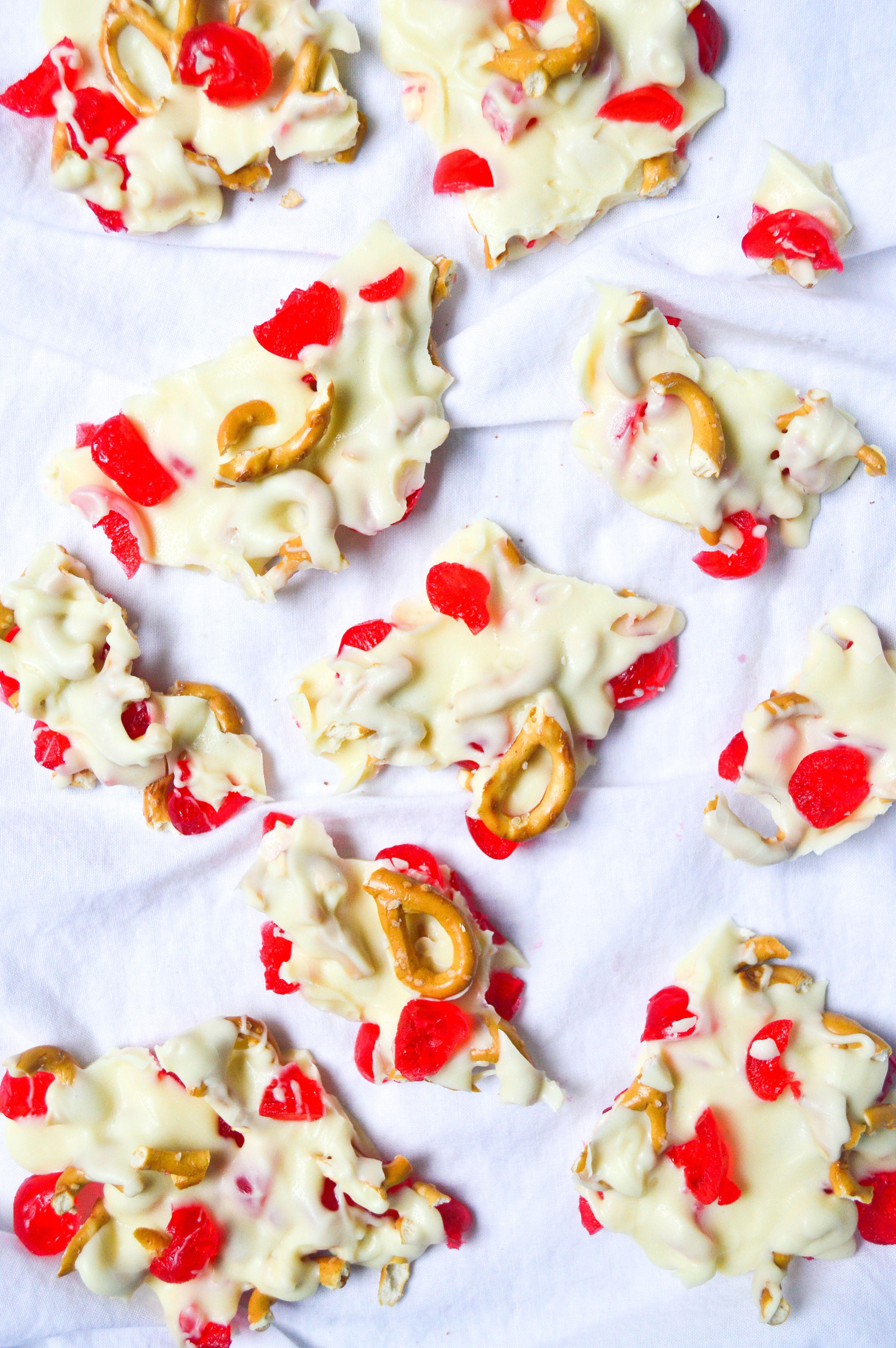 White Chocolate Cherry Bark | Recipe | Dessert Recipes ...