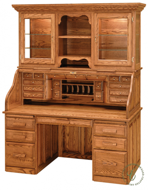 Beautify Your Library Or Home Office With This Solid Wood