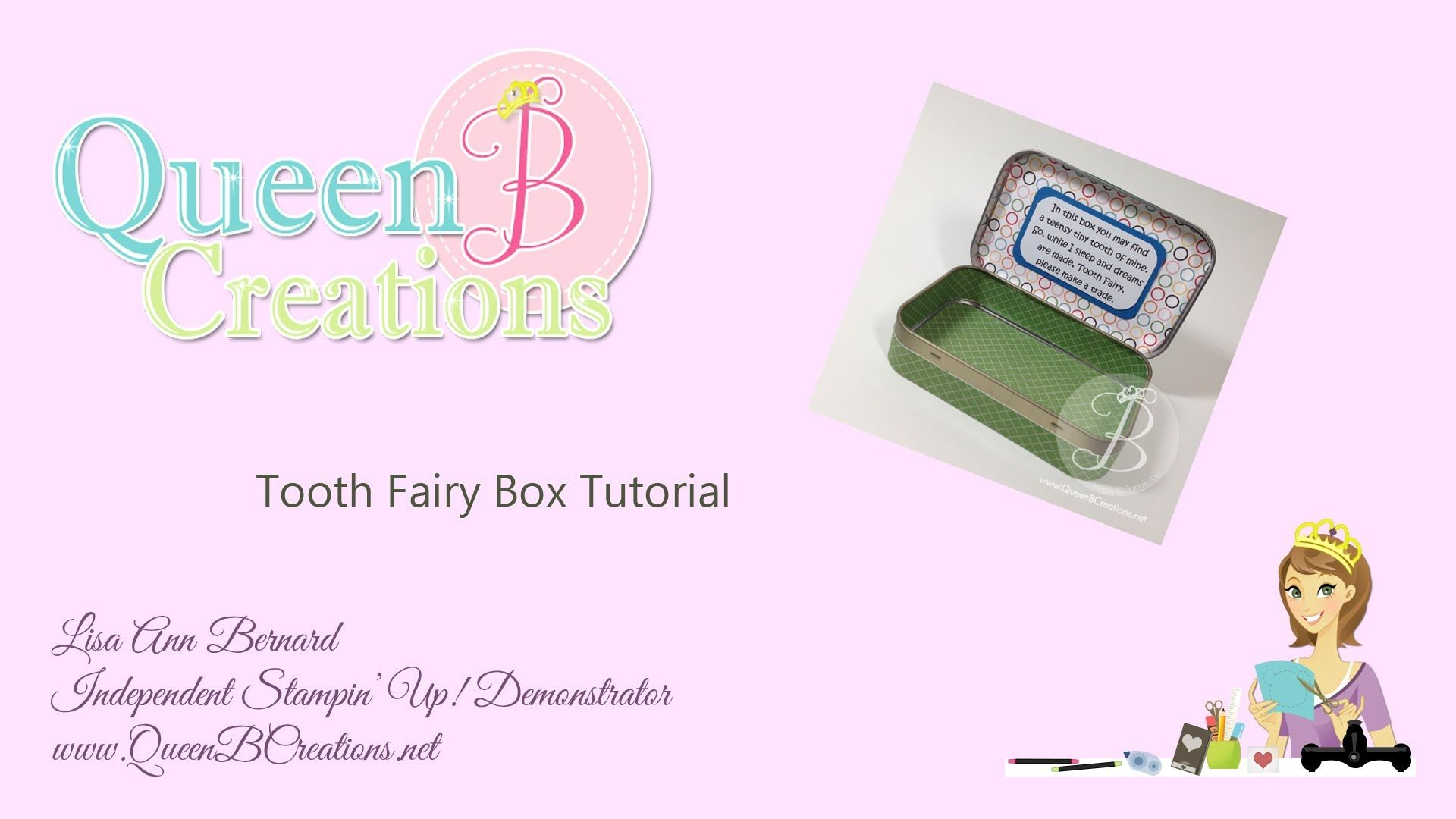 Tooth fairy box craft - Tooth Fairy Box