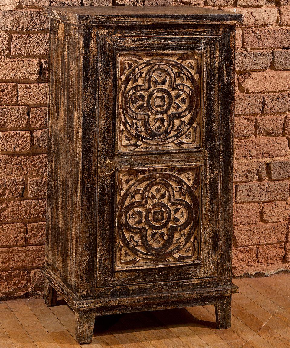 Look at this #zulilyfind! Black Toulon Cabinet by Hillsdale Furniture #zulilyfinds