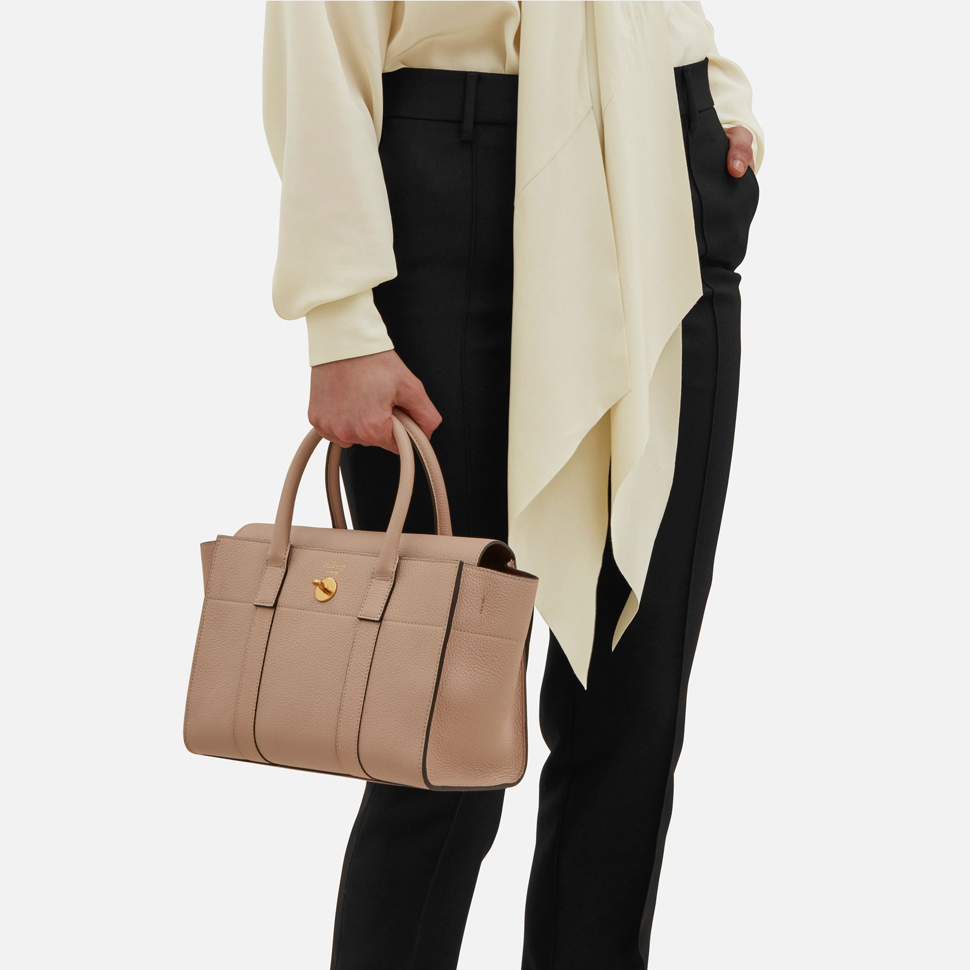 Small Bayswater   Rosewater Small Classic Grain   Women   Mulberry Rose  Water, Shoulder Bag b26c0dacda