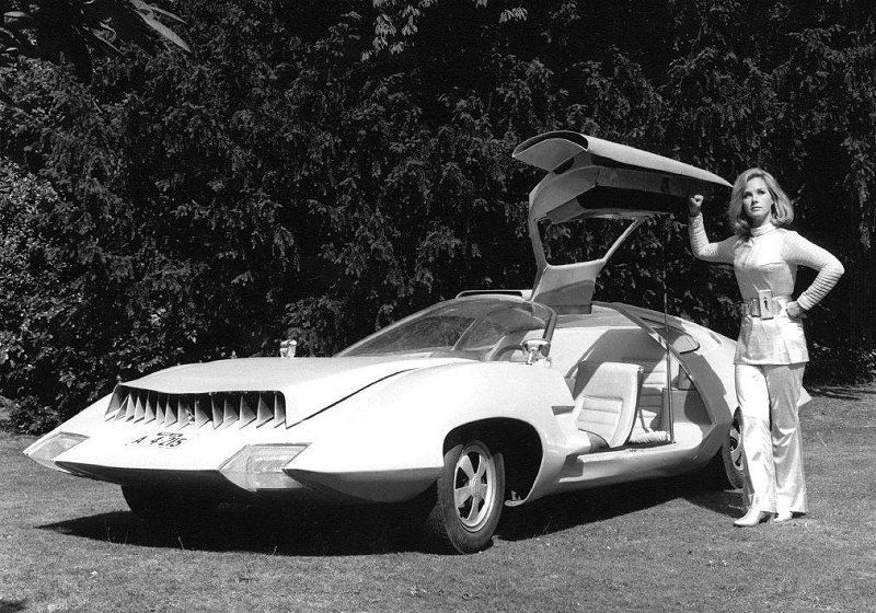 1960s British Concept Vehicle for the television program ...