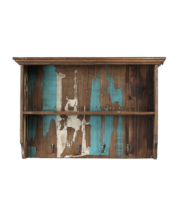 Take a look at this Reclaimed Wood Wall Shelf on zulily today!