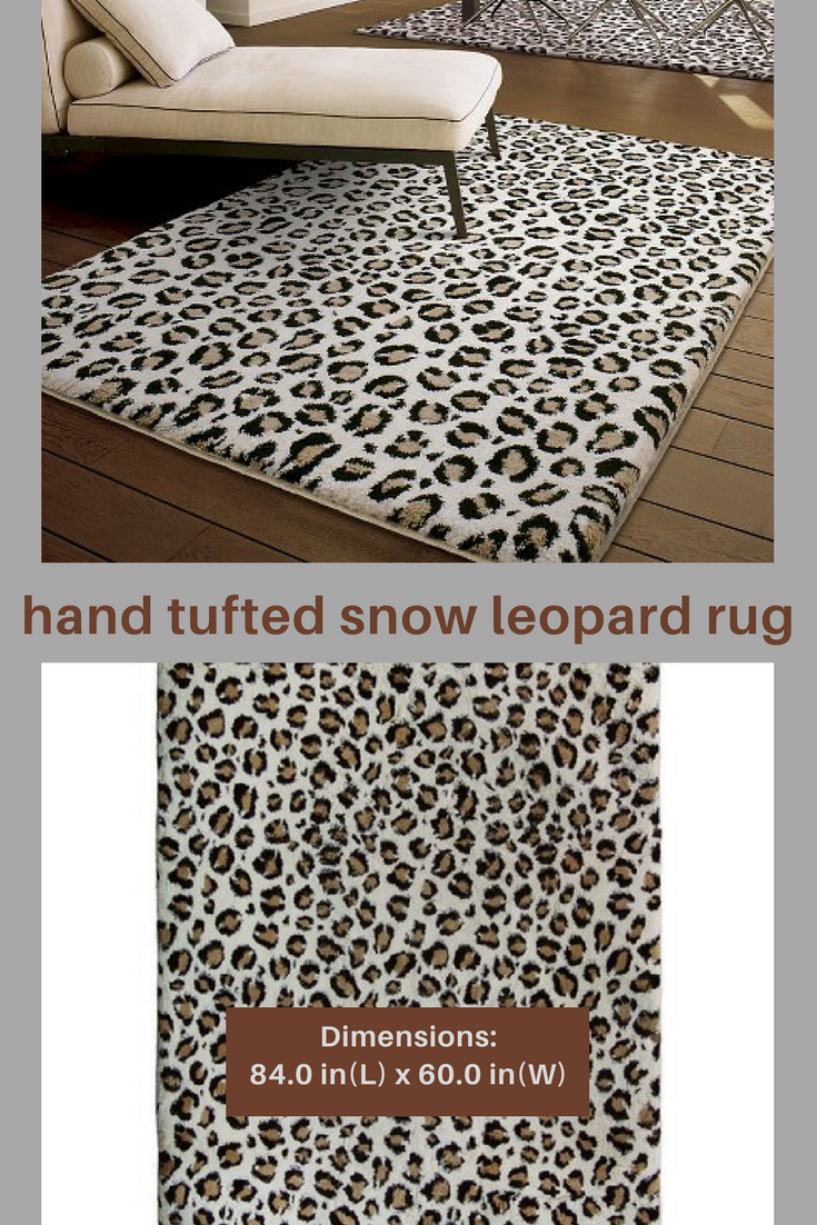 I Can T Resist Soft Pile Rugs Nor Snowy Leopard Print Accessories In My