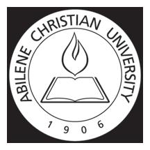 Abilene Christian University Graduate School Of Theology Abilene Texas Churches Of Christ Abilene Christian Christian Abilene