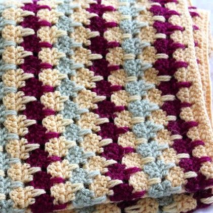 Crochet For Children Larksfoot Blanket Free Pattern Crochet