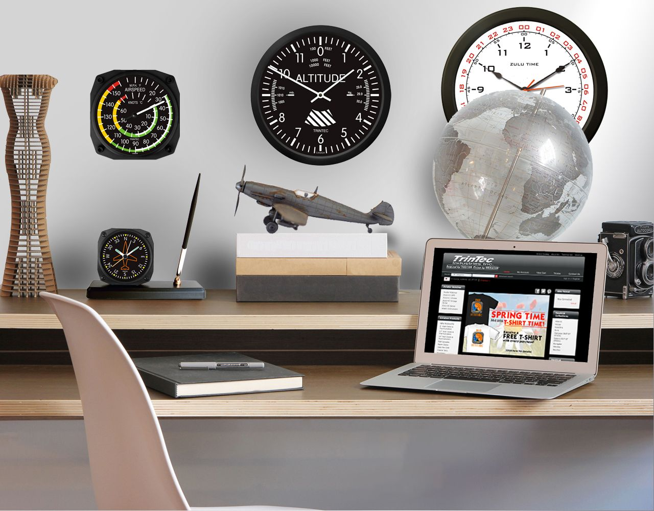 Aviation Up your Space! With products from the 2013 Trintec Aviation Catalog! Available at: www.trintec.com