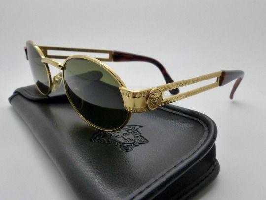 c6d27c3d626 Versace Gianni Sunglasses Mod. S68 Col. 030 Genuine Rare Vintage New Old  Stock  fashion  clothing  shoes  accessories  vintage  vintageaccessories  (ebay ...