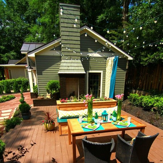 The Most Creative Backyard Decorating Ideas