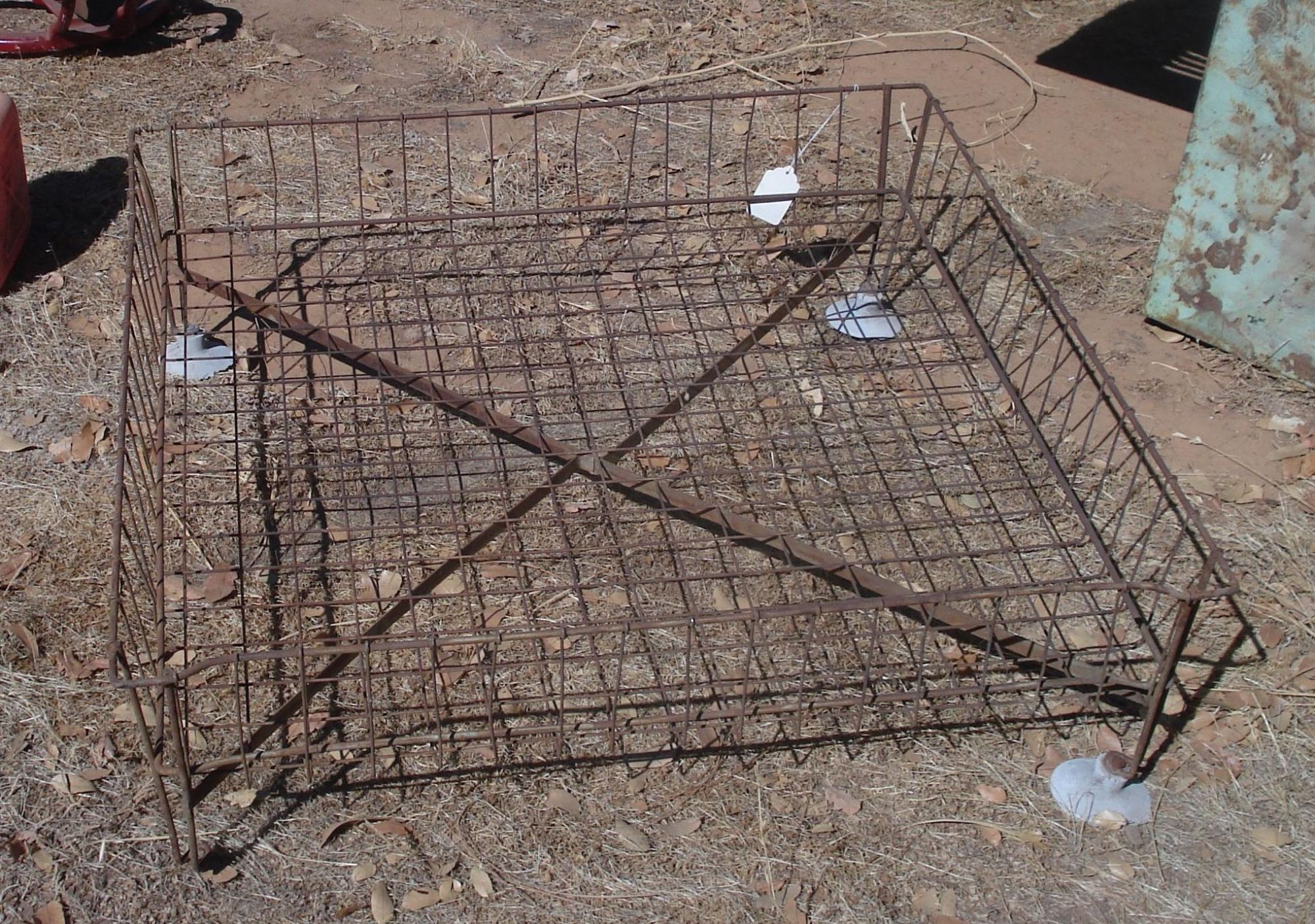 Vintage Wire Car Top Carrier Luggage Rack Rood Top With Images