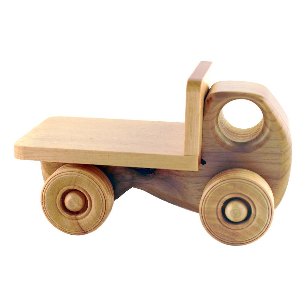 Humbert Myrtlewood Toy Flatbed Truckhttp:\/\/www.shop4