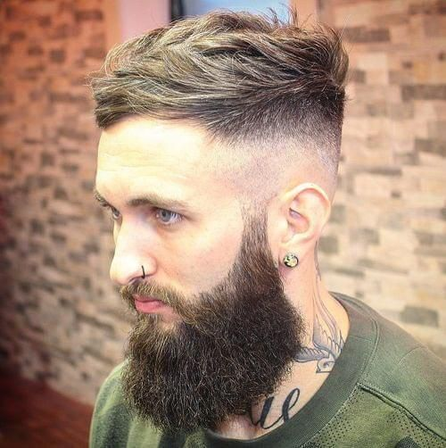 High Taper Fade Haircut Hairstyles For Men With Receding Hairlines Receding Hair Styles Hair Styles Haircuts For Receding Hairline