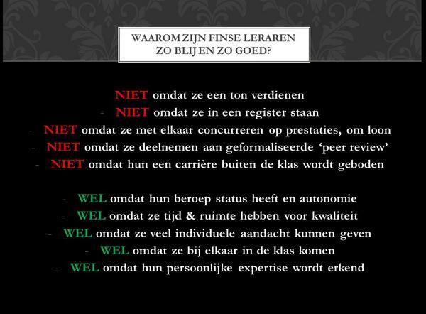 Korte impressies studiereis docenten ROC Midden Nederland naar beroepsonderwijs Finland van 5 t/m 11 oktober 2014.