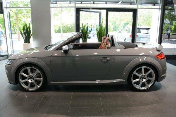 Audi Tt Rs Roadster In Nardo Grey Audi Audi Tt Audi