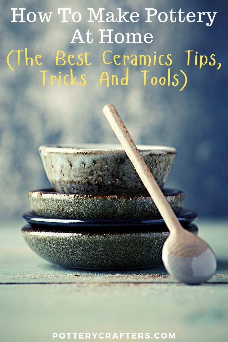 I'm Marie, and over on Potterycrafters.com, I obsess about Pottery Making. I am a passionate potter who is always testing out different ceramics techniques, I love going down to my studio and spinning my wheel for hours. On this blog, I share all the things I learn about pottery making for beginners. #pottery #potteryclasses