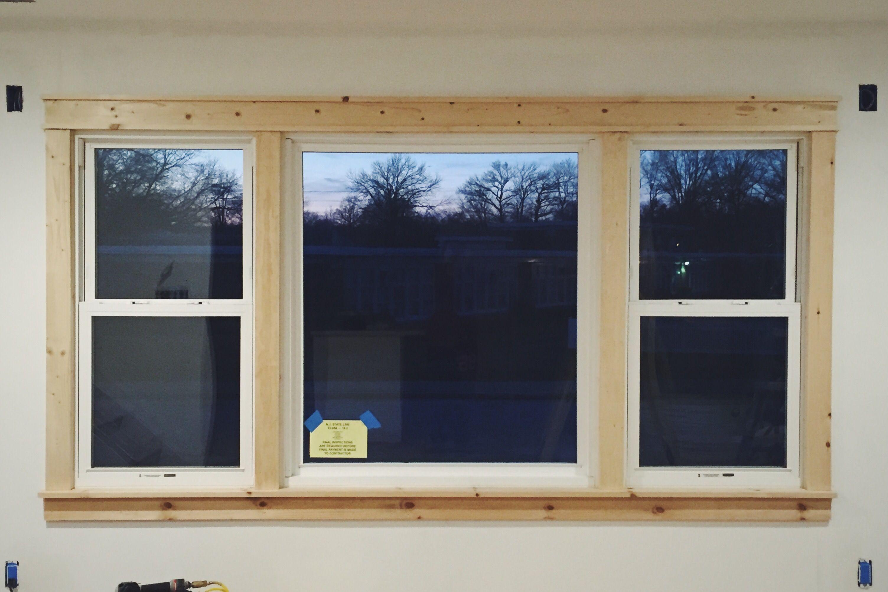 Window moulding ideas  diy modern easy craftsman window trim  trim  pinterest  craftsman