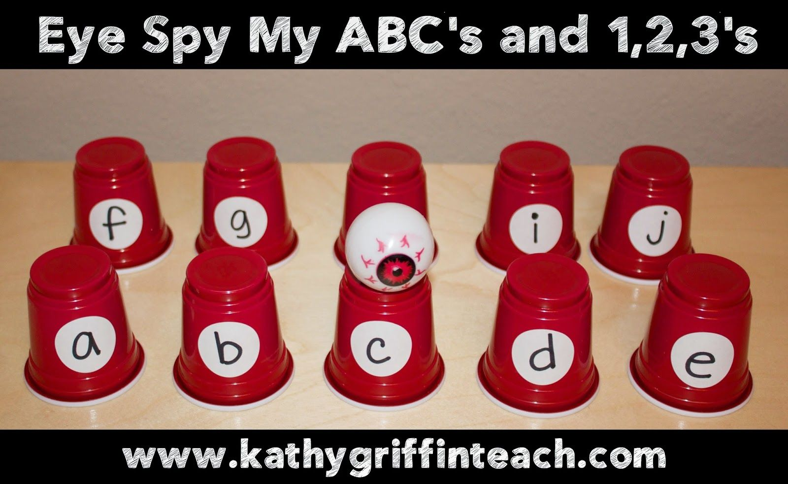 Fun Eye Spy Game For Learning The Letters Of The Alphabet