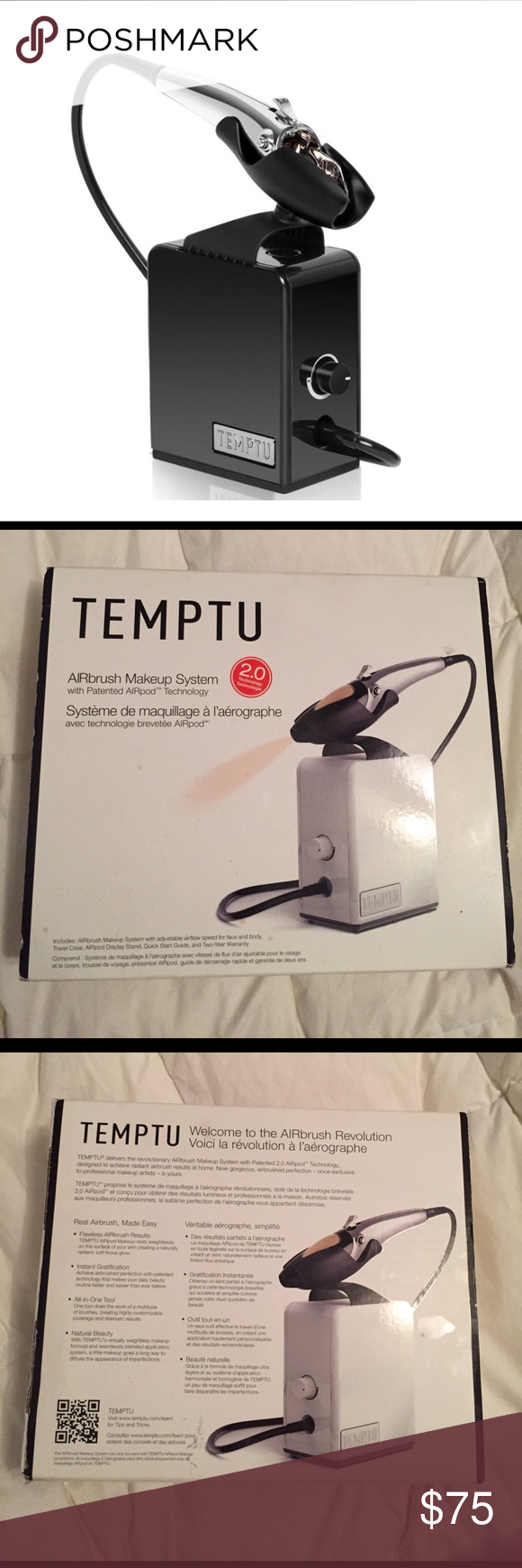 Temptu Airbrush Makeup System 2.0 New in box Temptu