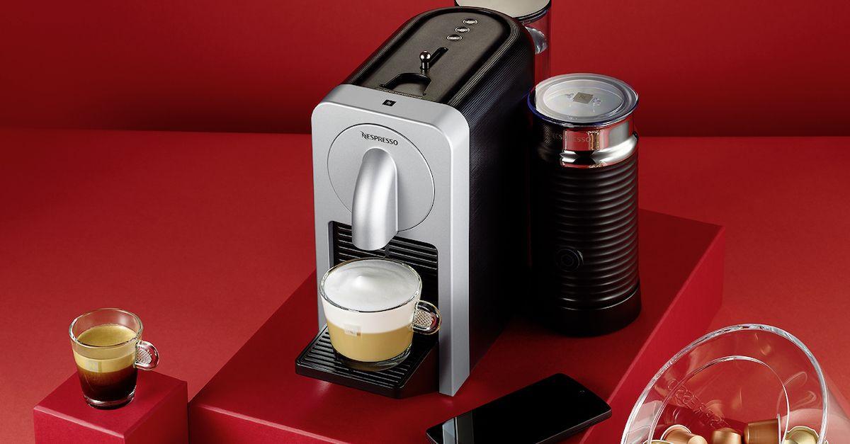 Impressionnant Nouvelle Machine Nespresso #13: Avec Sa Nouvelle Machine Nespresso Prodigio, Nespresso Va Ravir Les  Amateurs De Technologie Et De