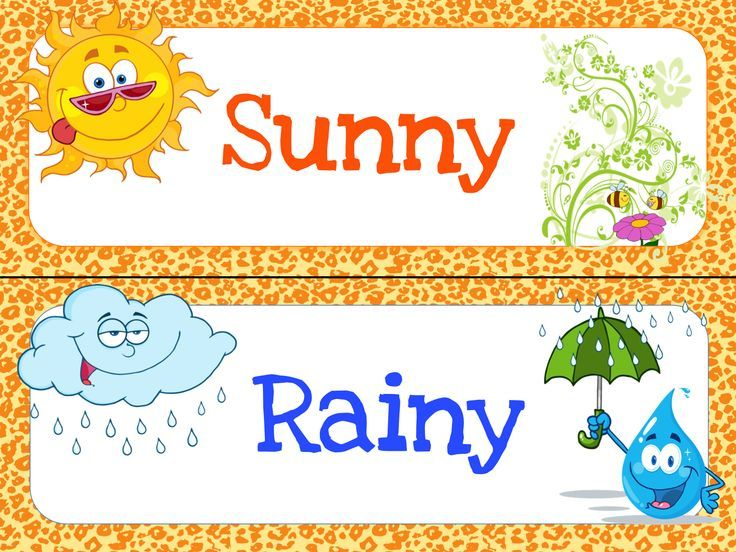 Free Printable Weather Chart For Kids
