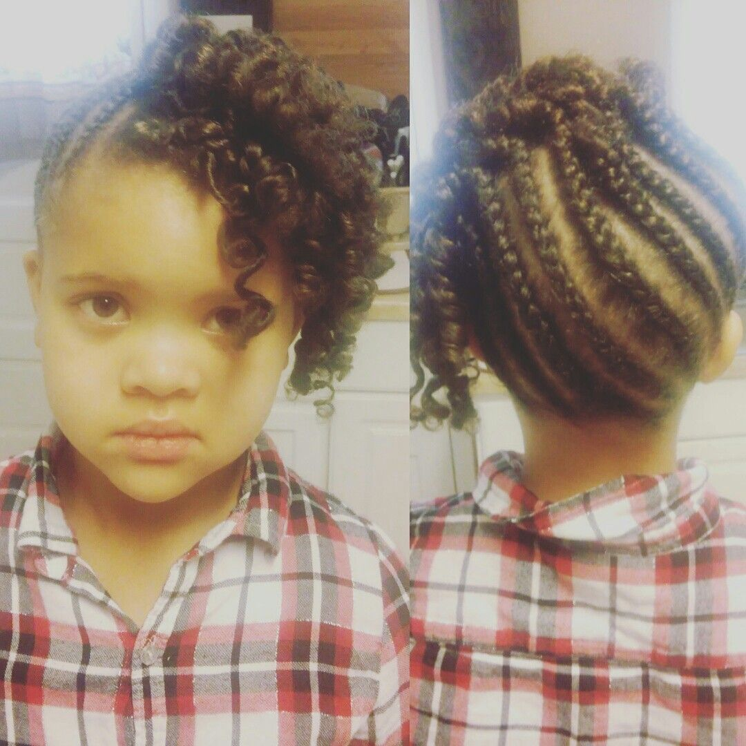 Kids braided up do cute everyday styles kiddy style pinterest
