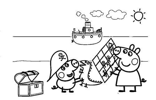 Dibujos de Peppa Pig para Colorear, Pintar e Imprimir