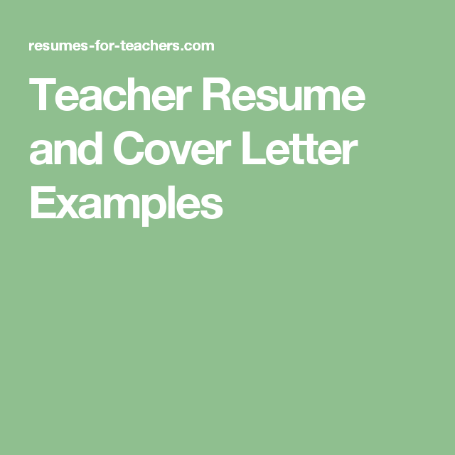 Professional resume writing service for teachers