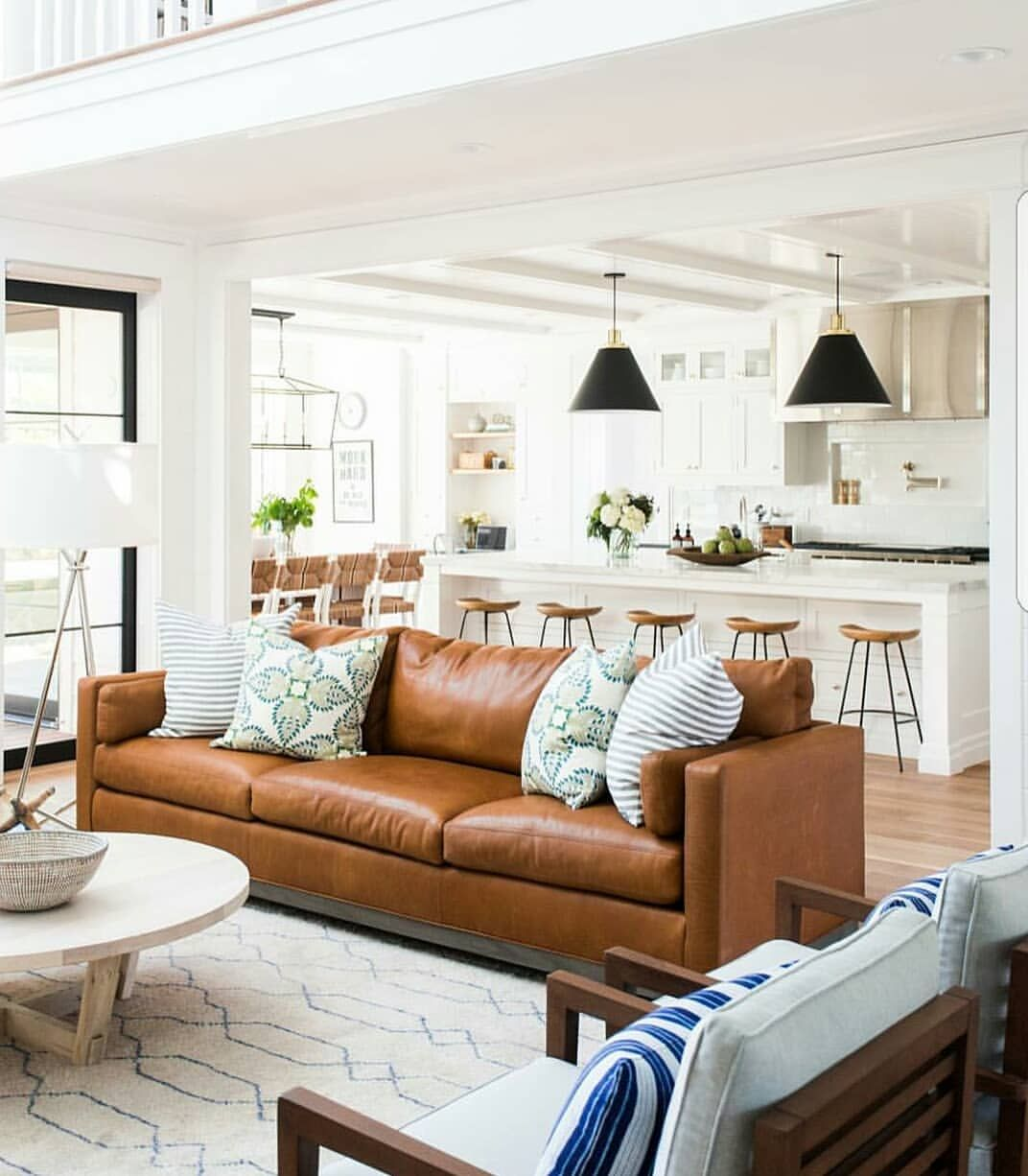 living room ideas with leather furniture%0A       Likes      Comments  Jordan   house becomes home  on