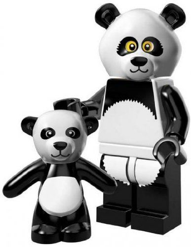 LEGO Minifigure Collection LEGO Movie Series LOOSE Panda Guy (738076846030) LEGO Minifigure