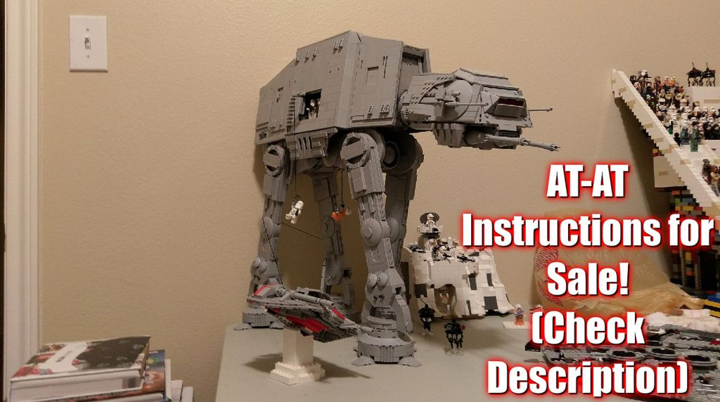 At At Instructions For Sale Check Description Legos