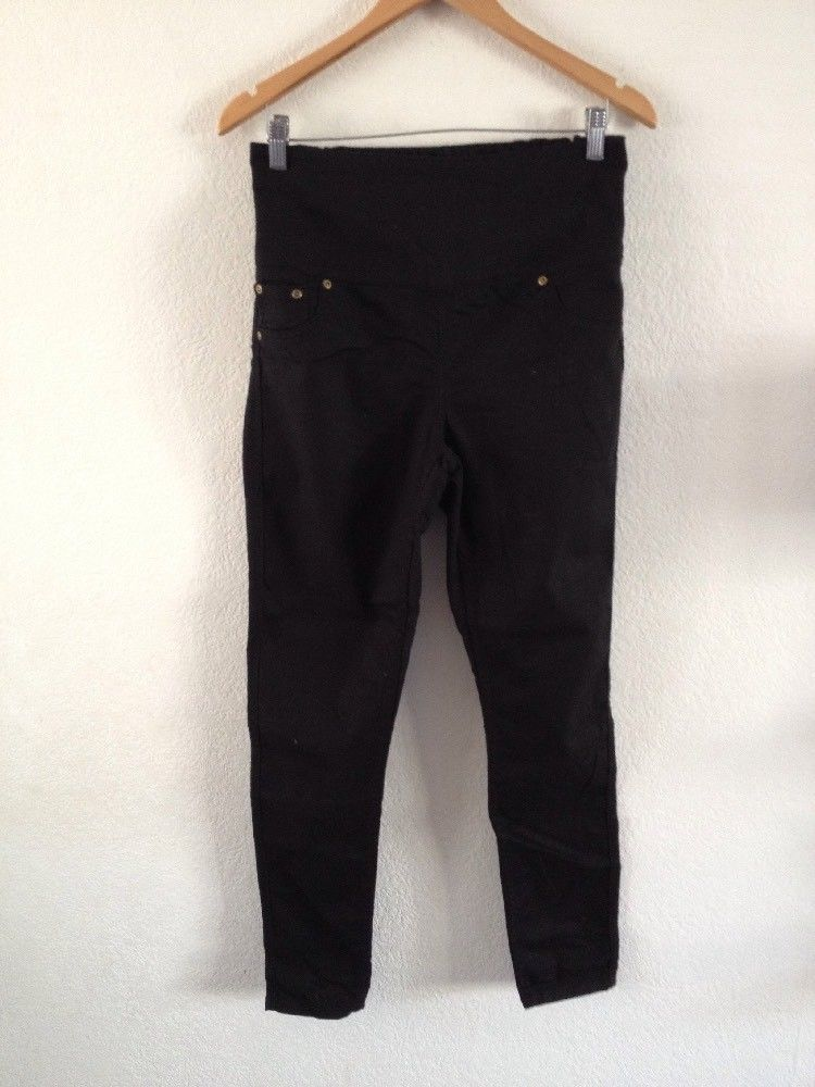 c60369f5a4376 Ladies Maternity Jeans By Avon Size 10/12 Black Pull On <R14675 #fashion  #clothing #shoes #accessories #womensclothing #maternity (ebay link)