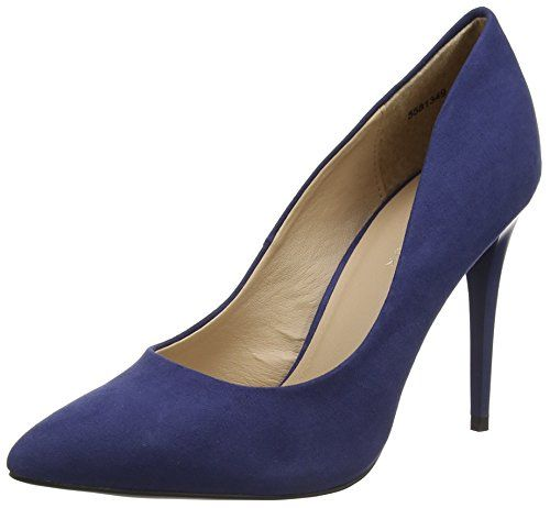 22423, Escarpins Femme, Bleu (Night Blue Pat), 38 EUTamaris