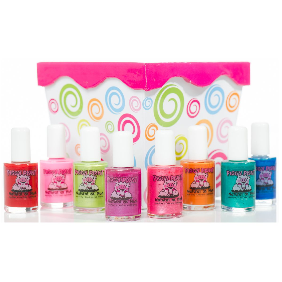 Piggy Paint | Natural, Non-Toxic, Odorless Nail Polish | CHILD SAFE ...