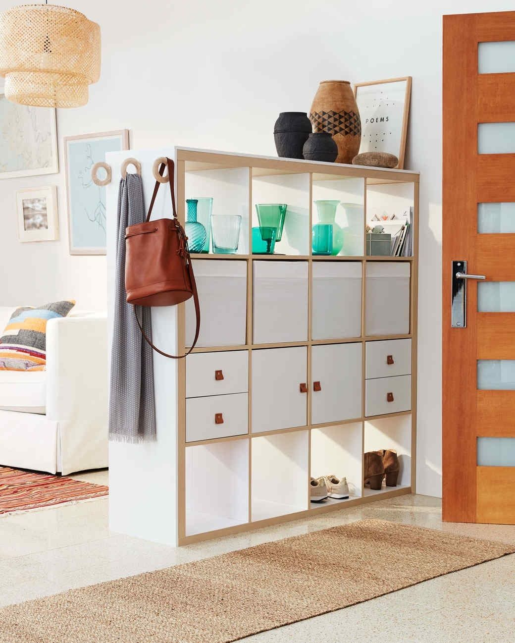 Smart Ways To Use Furniture To Add Storage And Structure To An Open Plan Space Ikea Room Divider Living Room Divider Fabric Room Dividers
