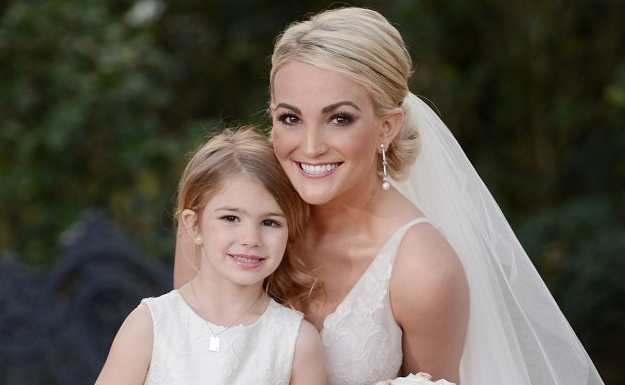 Jamie Lynn Spears Wedding Google Search Jamie Lynn Spears Wedding Wedding Looks Flower Girl Dresses